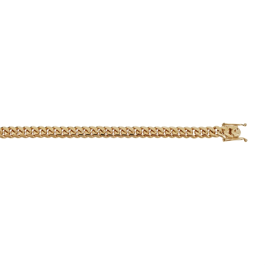 14K YG 8.2 MM MIAMI CUBAN LINK